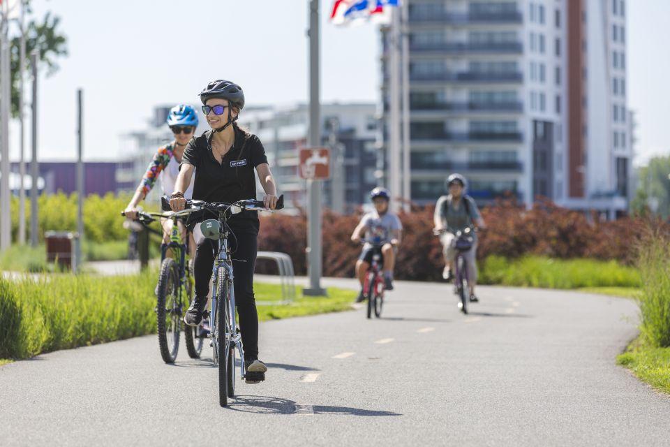 Vélo visite à Boréalis